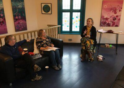 Rosanne addressing participants