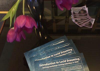 Lucid dreaming leaflets