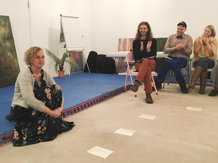 Lucid dreaming workshop lead by Rosanne Jacks